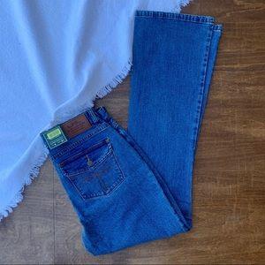 NWT LRL Ralph Lauren classic bootcut jeans